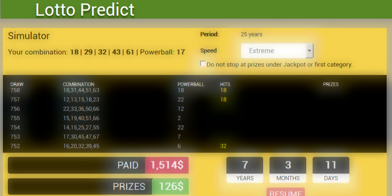 Lottery simulator, lottery statistics and ranking for all world lotteries.